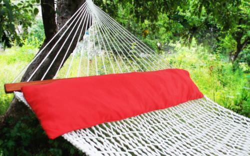 Подушка для гамака красная